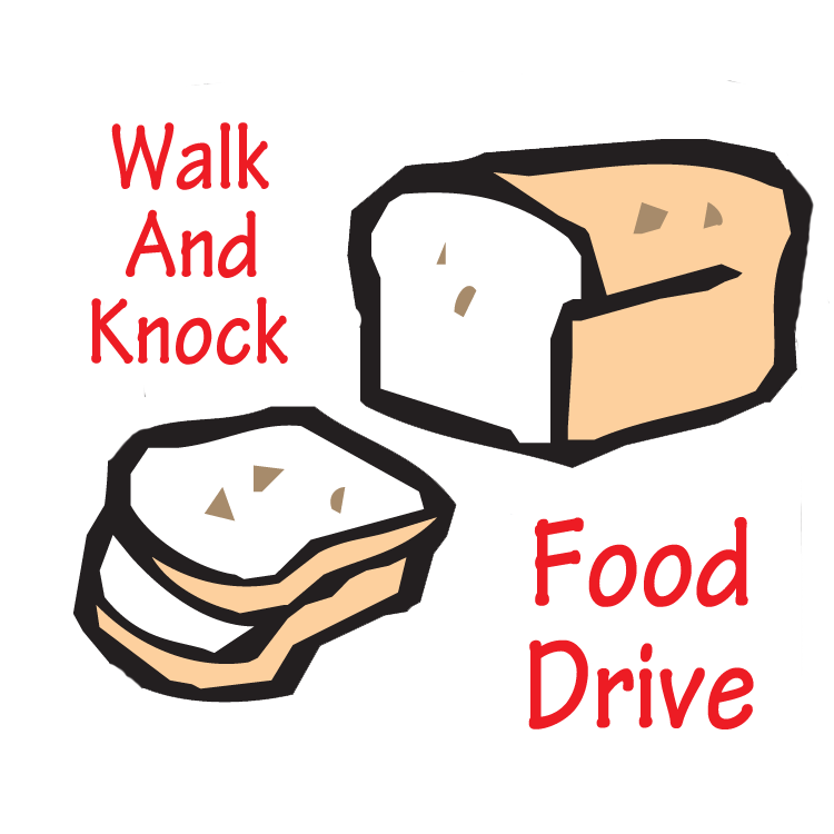 link to walk and knock food drive page