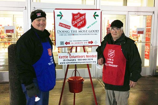 salvation army bell ringing picture