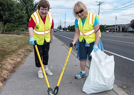 adopt a road litter patrol picture