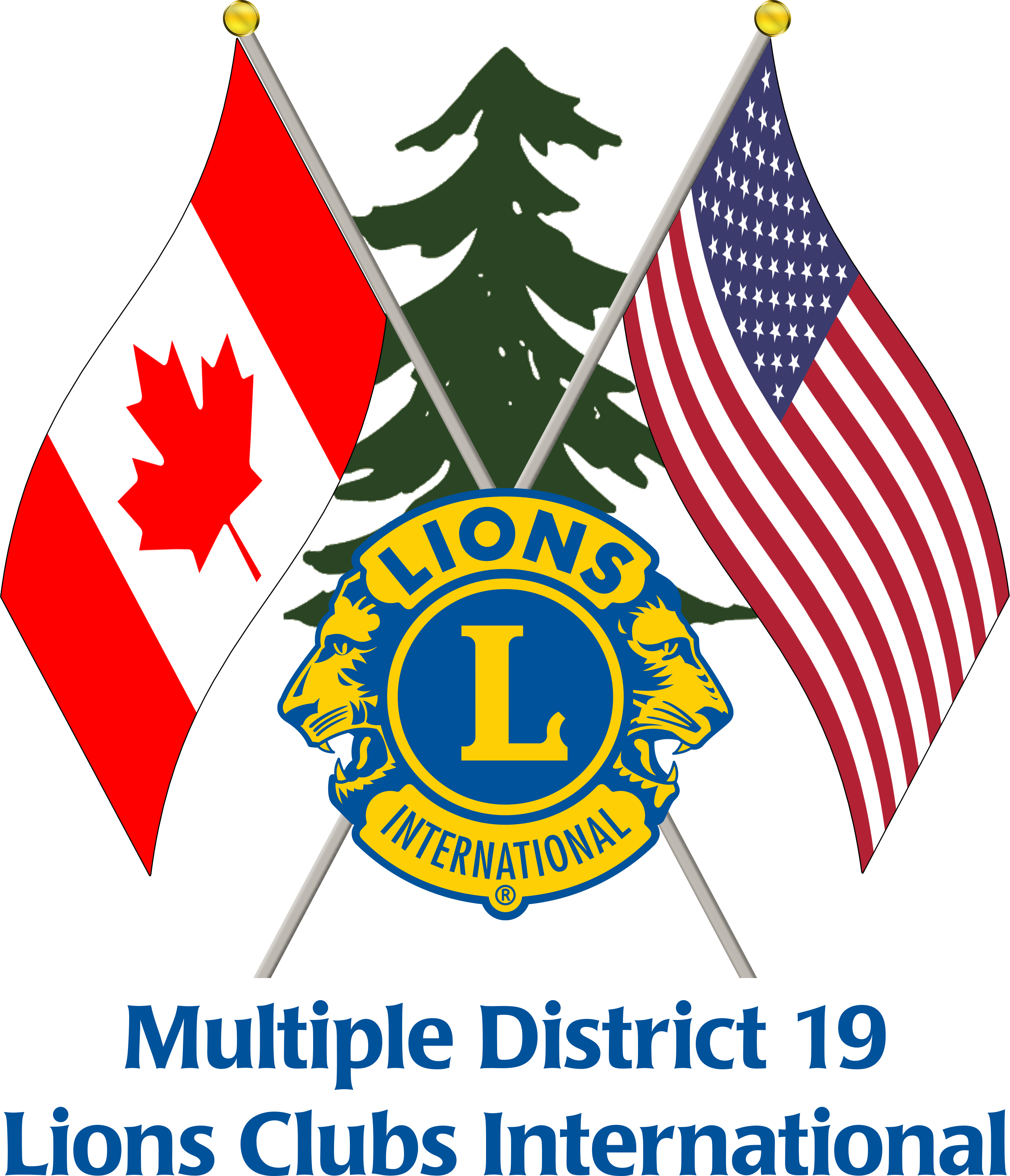 Multiple District 19 Logo