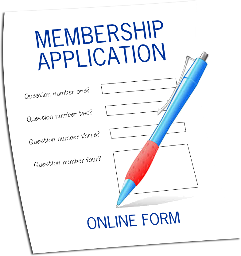 Online membership application