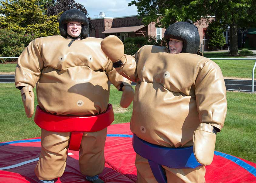 picture of Sumo Wrestling at Jamboree