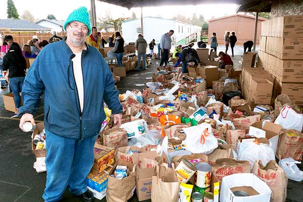 picture of food drive